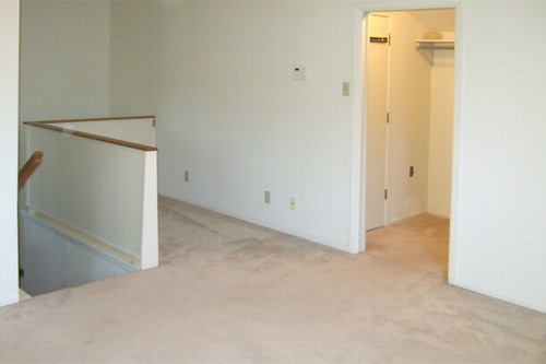 sitting area and walk-in closet with extra storage closet
